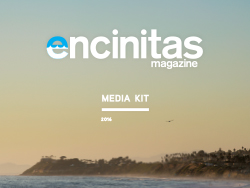 2016 Encinitas Magazine Media Kit